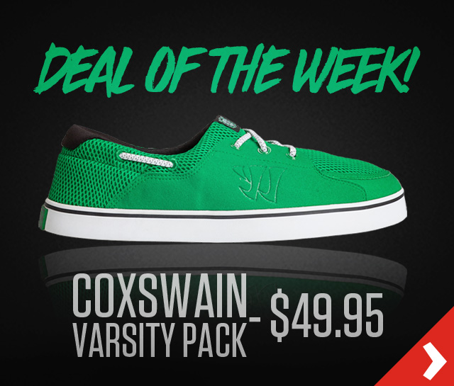 Deal of the Week! Coxswain - $49.95