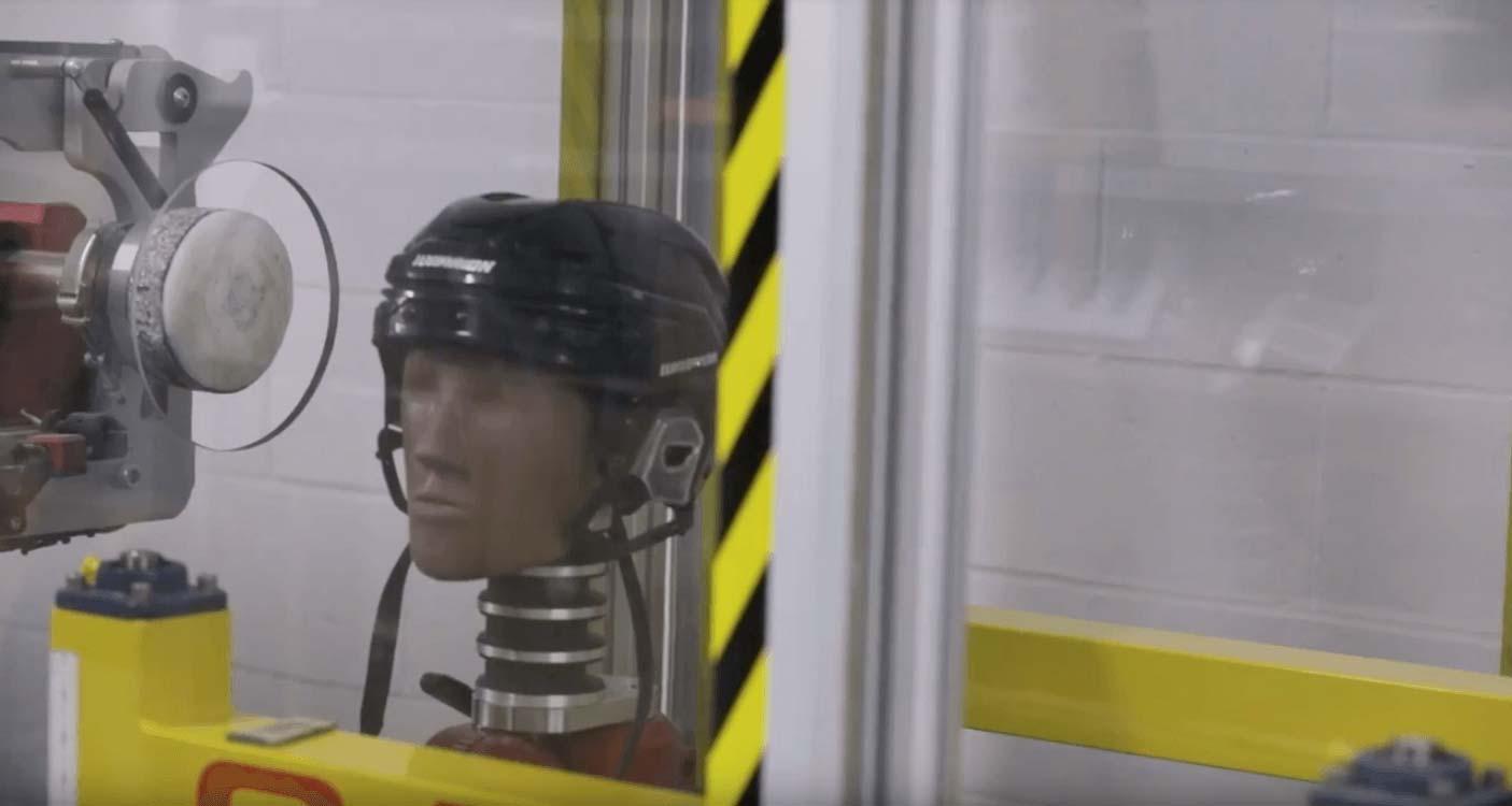 alpha one helmet video