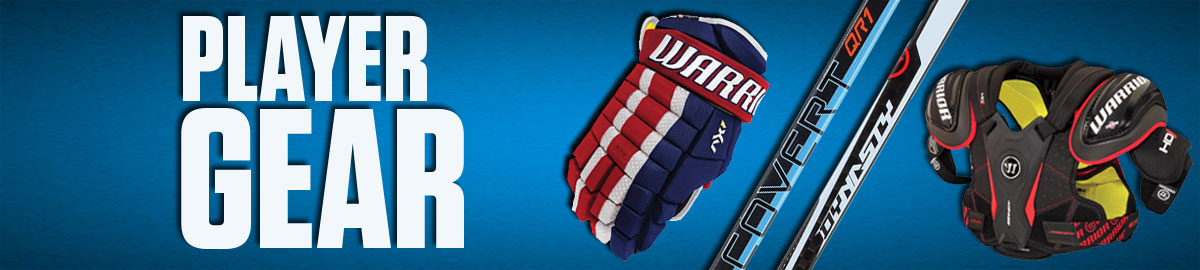 Warrior Hockey Player Gear