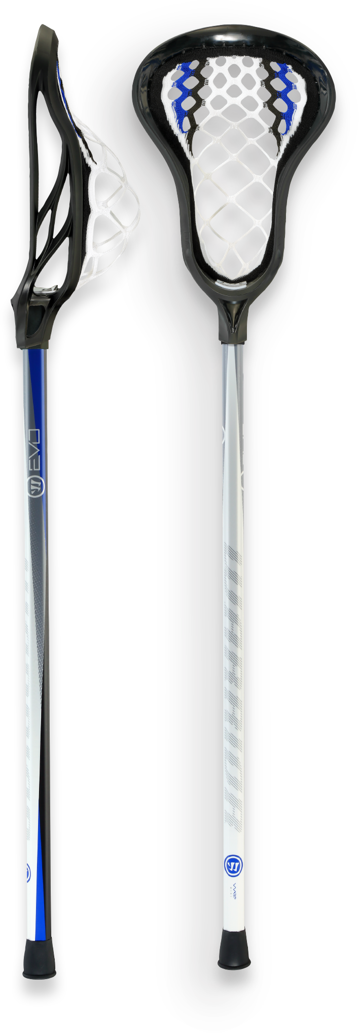 Lacrosse stick, side view