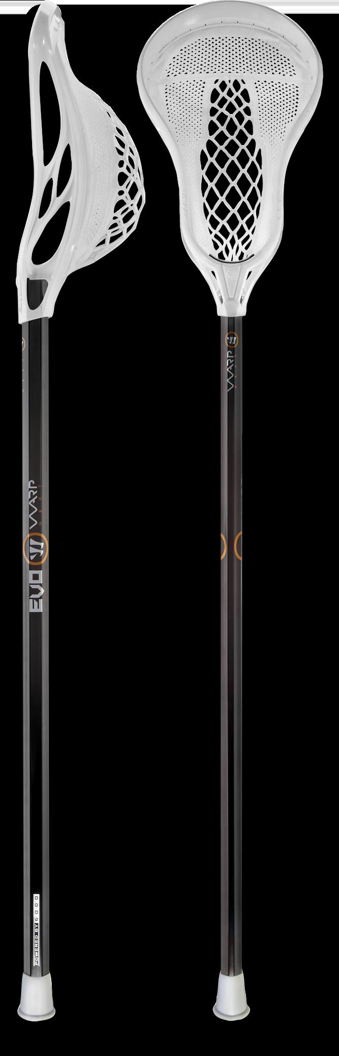 Lacrosse stick, side view