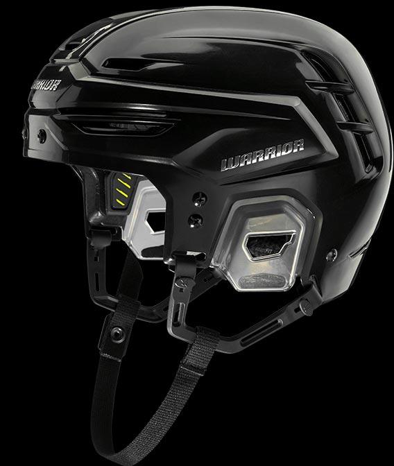side shot of helmet