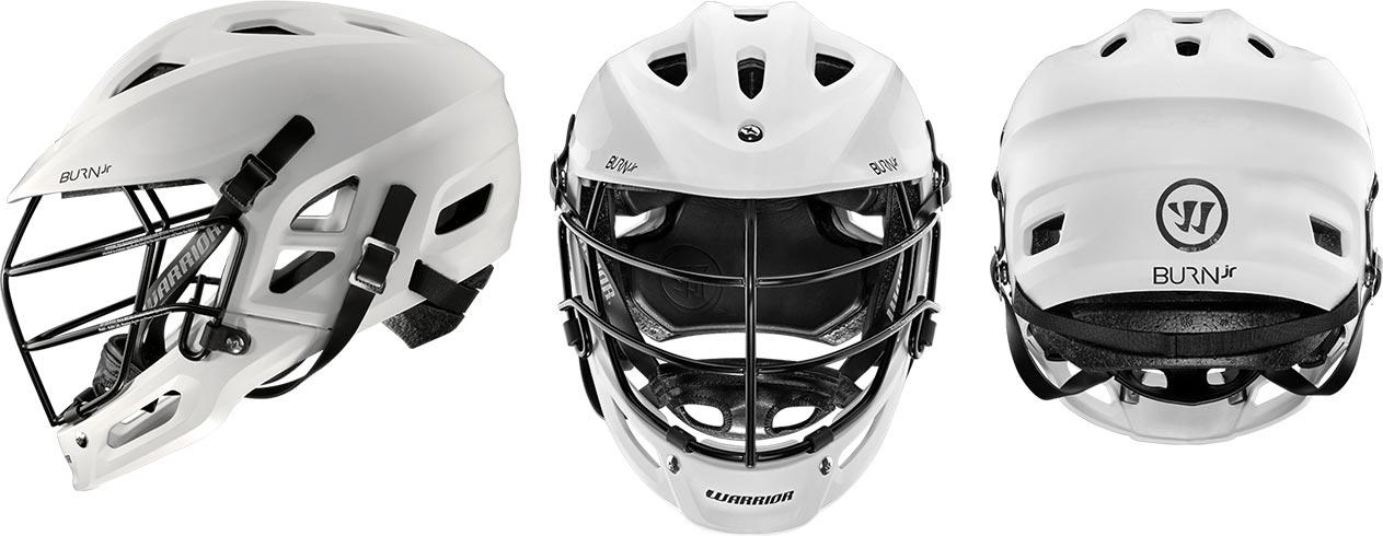 Burn Jr Youth Helmet - front, side, and back