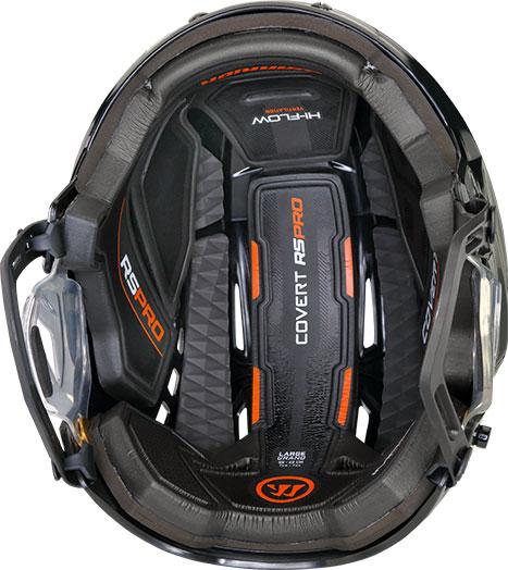 RSPro Helmet: Inside